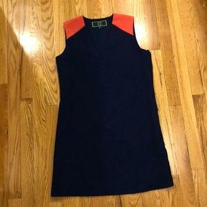 Dresses & Skirts - C Wonder Navy/Coral Dress